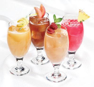 طرز تهیه نوشیدنی نارگیل و گلابی