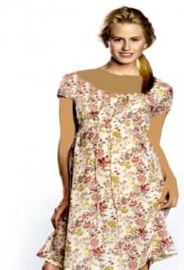 ژورنال مدل لباس بارداری با الگو