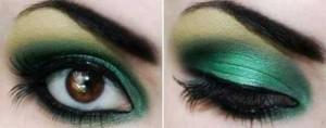 عکس های مدل های آرایش پر طاووسی چشم 2016