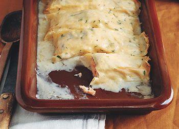 سالمون با پنیر خامه ای