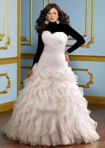 مزون لباس عروس ویژه خانم های تپل