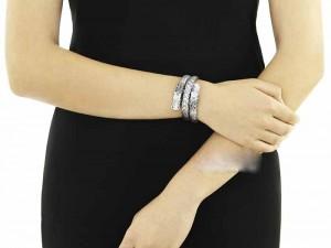 جدیدترین مدل دستبند نقره دخترانه 95