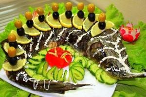 مدل های تزیین ماهی قزل آلا