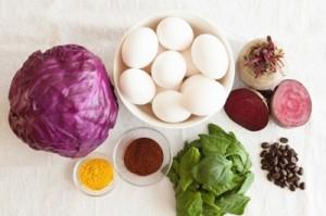 مواد طبیعی که می توان تخم مرغ را رنگ کرد و نحوه رنگ کردن تخم مرغ
