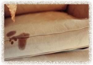 راهکاری برای از تمیز کردن لکه مبل و موکت