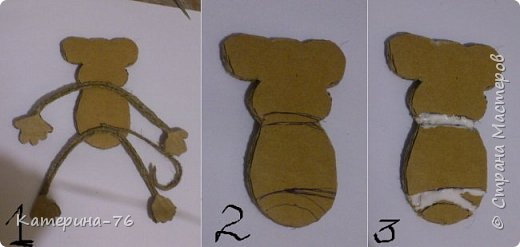 DIY-Monkey-with-cotton-twine-10