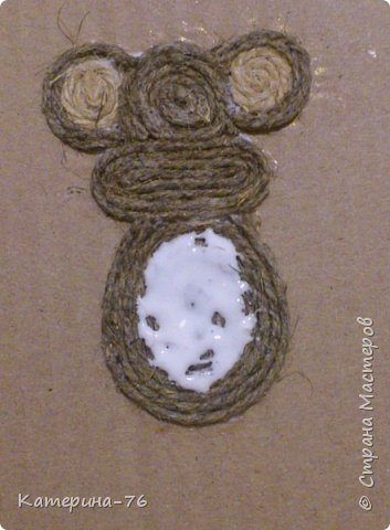 DIY-Monkey-with-cotton-twine-4