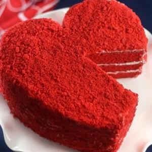 آموزش تصویری درست کردن کیک مخملی
