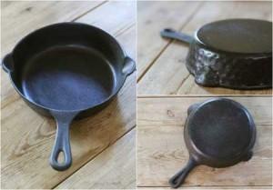 راهکاری برای ترمیم ظروف چدنی سوخته
