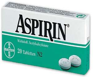 آشنایی با عوارض و خطرات مصرف آسپرین