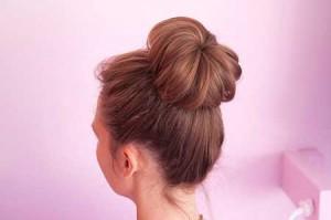 آموزش تصویری مدل بستن موی گوجه ای