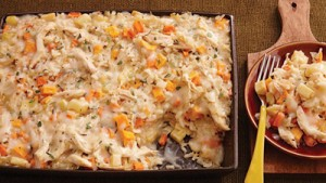 روش درست کردن ریزوتو مرغ و سبزیجات