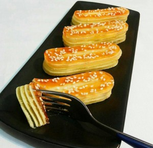 طرز تهیه ژله شکل شیرینی زبان