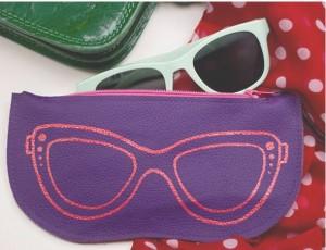 آموزش تصویری دوخت کیف عینک