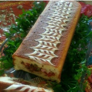 روش درست کردن کیک گوشت