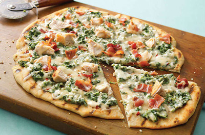 روش درست کردن پیتزای سبزیجات و ماهی