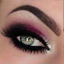 جدیدترین مدل آرایش چشم به صورت مرحله ای