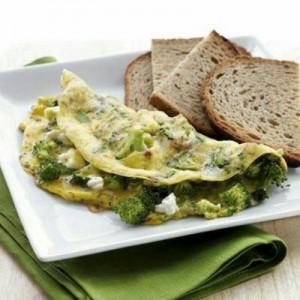 روش درست کردن تخم مرغ با کلم بروکلی | غذای رژیمی