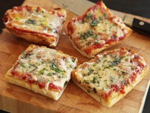 روش درست کردن پیتزا با نان ساندویچی
