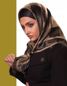 جدیدترین مدل شال و روسری با نحوه بستن آن