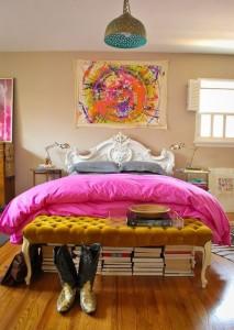 راهکارهای جالب برای استفاده از فضای خالی زیر تخت