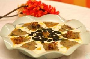 روش درست کردن آش ماست غذای محلی زنجان