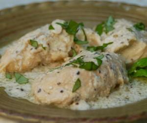 روش درست کردن مرغ خامه ای به سبک ایتالیایی