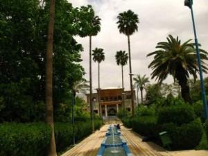 باغ زیبا و تاریخی دلگشا در شیراز
