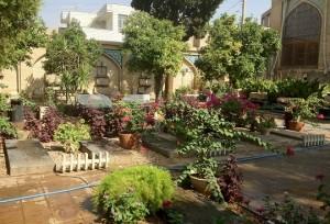 باغ چهل تن یا بقعه چهل تنان در شیراز
