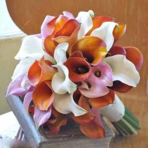 شیک ترین سری جدید مدل دسته گل طبیعی عروس 95