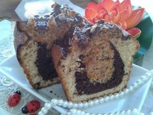 آموزش تصویری درست کردن کیک سه طعم