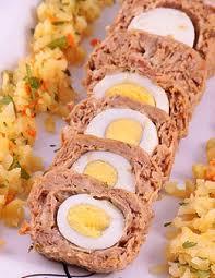 روش درست کردن رولت تن ماهی و تخم مرغ