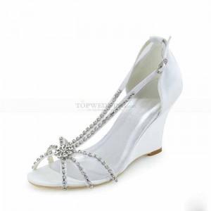 جدیدترین مدل کفش های مجلسی سفید زنانه 95