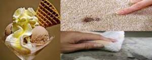 روش های گوناگون پاک کردن لکه بستنی