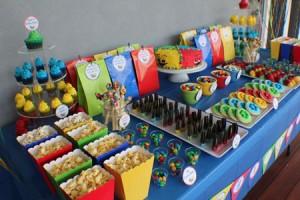 نمونه های تزیینات خوراکی جشن تولد
