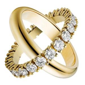 عکس های ست مدل حلقه های نامزدی 95