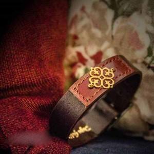 جدیدترین مدل دستبند چرم دست ساز ایرانی
