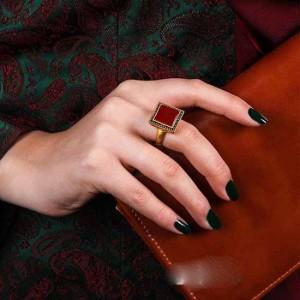 جدیدترین مدل انگشتر طلا برند Agat