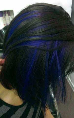زیباترین مدل هایلایت های وِیژه موی مشکی