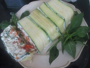 روش درست کردن ترین پنیر و سبزیجات