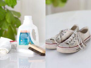 راهکاری برای شستن کفش کتانی