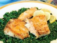 چطور خوراک ماهی و اسفناج درست کنیم