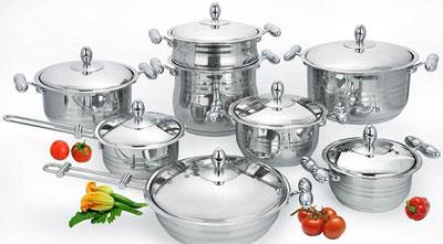 در کدام ظرف و ظروف آشپزی کنیم